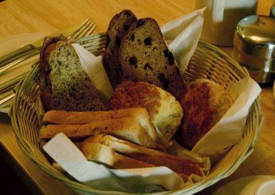 Station House Breakfast, Assorted Bread Basket