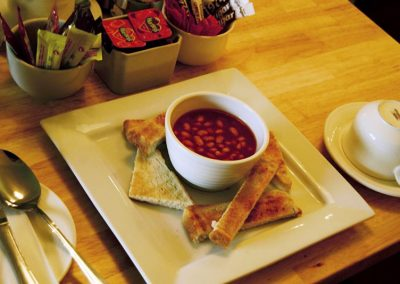 Station House Breakfast, Beans on Toast