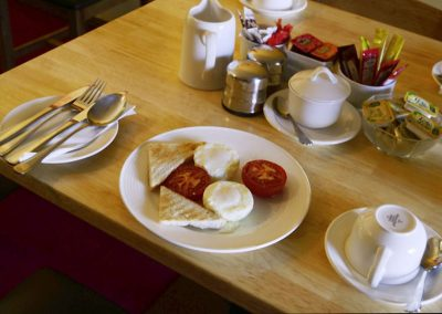 Station House Breakfast, Poached Eggs